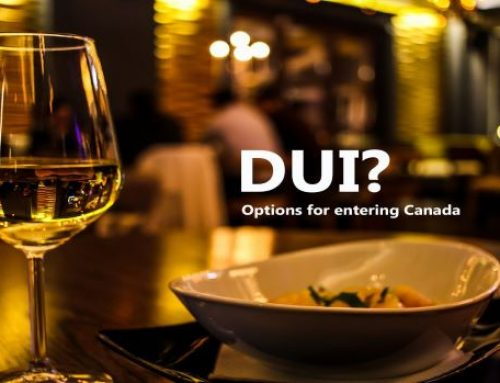 Travelling to Canada with a DUI or DWI on record?
