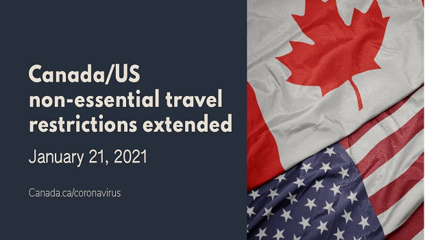 travel restrictions to canada essential travel